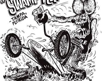 Swamp Rat Sticker/Decal