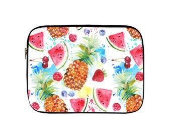 Tropical Fruit Laptop Sleeve, Tablet Sleeve