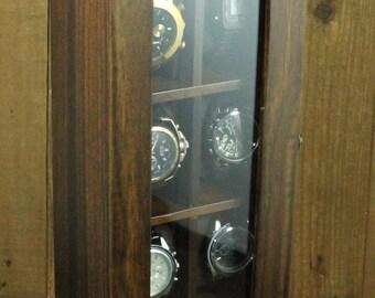 10 Slot Classic / Vintage Wood Watch Box Display Case Organizer Jewelry Storage