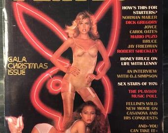 Playboy Magazine - December 1976