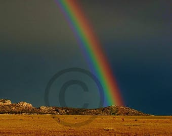 Galisteo Rainbow (New Mexico)