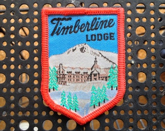 Vintage Ski Patch Timberline Lodge