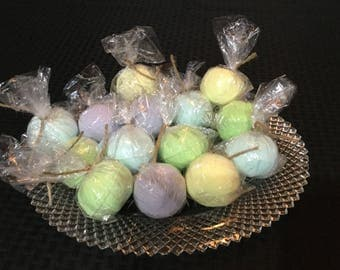 Small single bath bombs,