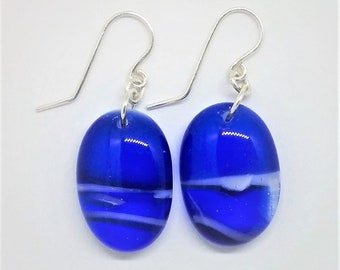 Royal Blue Drop Earrings