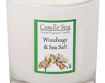30cl (200g) candle - Woodsage & Sea Salt