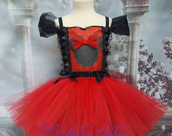 Minnie mouse style tutu dress