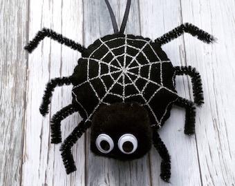 black spider spider decoration spider gift halloween gift halloween party halloween