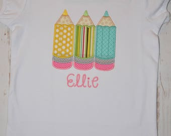 Back to School 3 Pencils Shirt- Portion of sales donated to Cure SMA