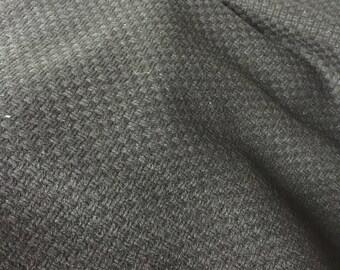 Black Basket Weave Fabric - Kylo Ren Costume Fabric