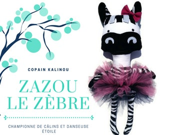 Buddy Kalinou Zazou Zebra - ready to ship