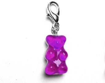 Purple gummy bear - LEXFIMO charm