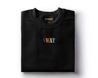 Swat Tee- Streetwear Minimal Hypebeast T-Shirt.