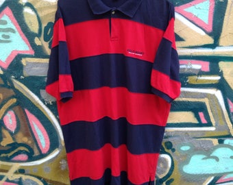 Polo Sport Striped Polo Style shirt Vintage 1990's