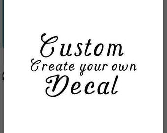 Make Your Own Vinyl Etsy - Make your own decal for laptop