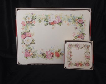 Pimpernel Placemats and Coasters Set