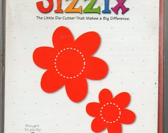 Flowers Sizzix Die Cutter Scrapbook Embellishments Cardmaking Crafts