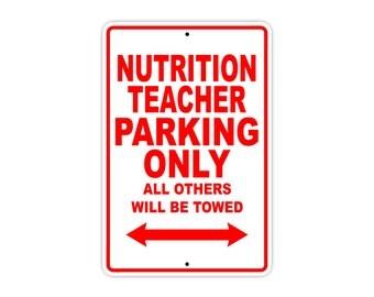Nutrition Teacher