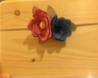 SALE***Flower elastic Headband