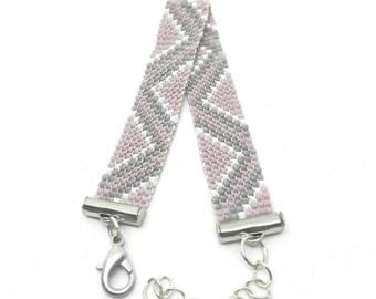 Woven with Japanese Miyuki Beads Bracelet