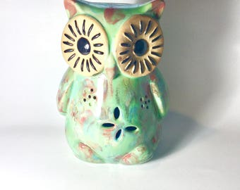 Vintage Owl Sculpture
