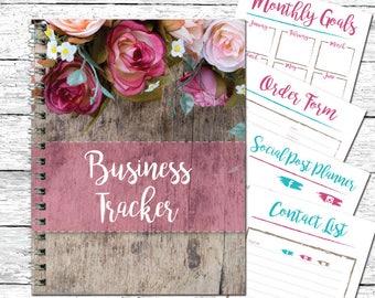 Direct Sale Planner - Business Planner - Daily Life Planner - Social Media Planner - Habit Tracker - Planner Inserts - Goal Planner