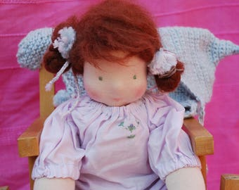 Embroided DISPY Doll by type of Waldorfpuppe