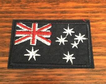 Australian Flag - Iron on Appliqué Patch
