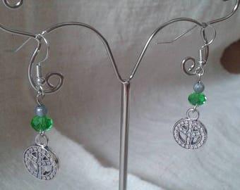 """Earrings """"Dragon Silver"""""""