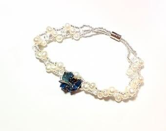 Bracelet BlueFlower