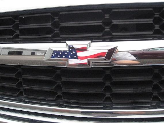 2014 2015 2016 2017 Chevy Silverado 1500 American Flag Grille