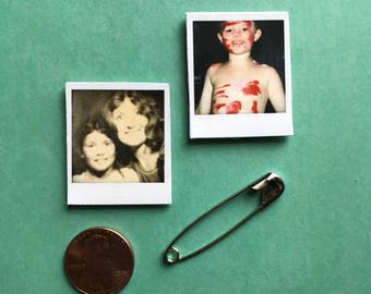 Personalized Mini Polaroid Magnets