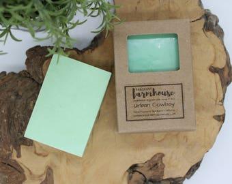 Urban Cowboy - Mens Soap - Goats Milk - All Natural - Farmhouse - Fresh  - Natural Soap - Goats Milk Soap - Moisturizing - Handmade Soap