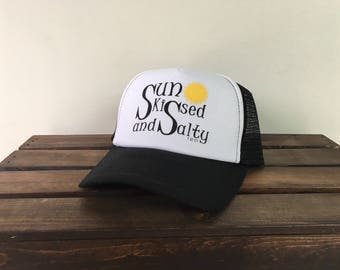 Sun Kissed and Salty Trucker Hat