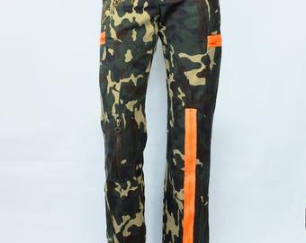 Vintage Dolce & Gabbana junior camouflage luxury pants Size XS