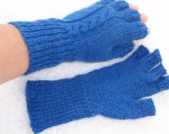 half finger ladies gloves