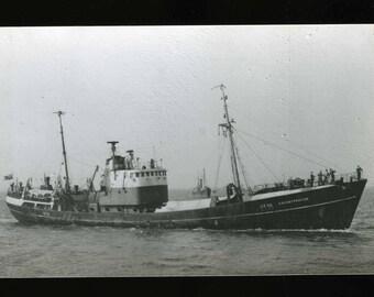 Grimsby Trawler GY10 Coldstreamer - c1970
