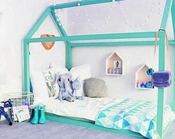bunk bed house bed home bed floor bed toddler bed children