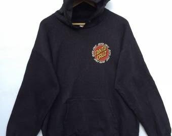 Santa cruz skateboarding hoodie