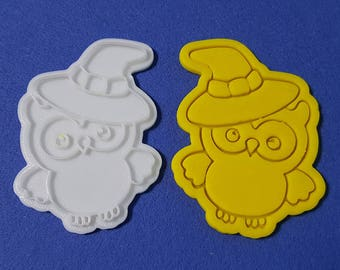 Halloween Owl Cookie Cutter and Stamp