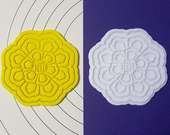 Traditional Korean Pattern - Flower01  Cookie Cutter and Stamp