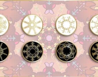 Snowflake / Mandala Pair: Love + Indifference - Pre-Order