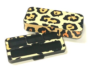 JUUL Vape travel case Cheetah design