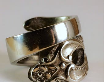 Beautiful Spoon Ring - Hand Created - Size 6 1/2