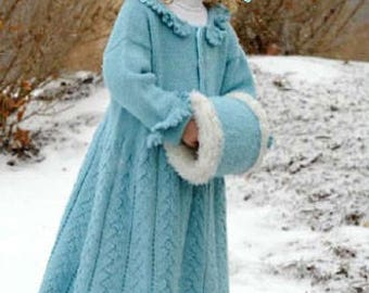 Frozen Princess Coat in ages 1 to 6 years