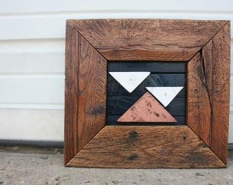 """Pallet Wood Art- """"Overcast"""""""
