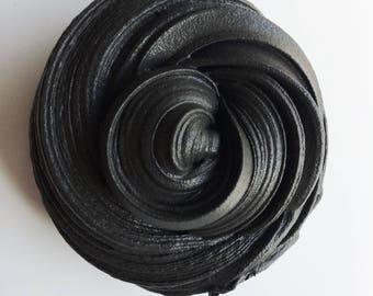 Midnight Lavender Daiso Black Butter Slime (scented) READ DESCRIPTION