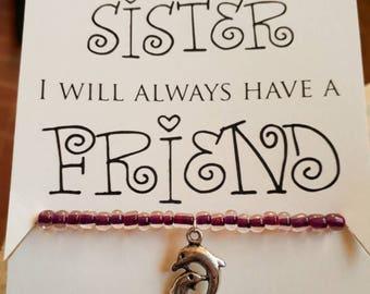 Sister Bracelet and Poem