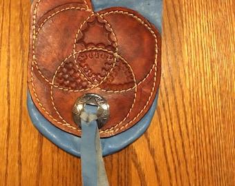 Western saddle purse