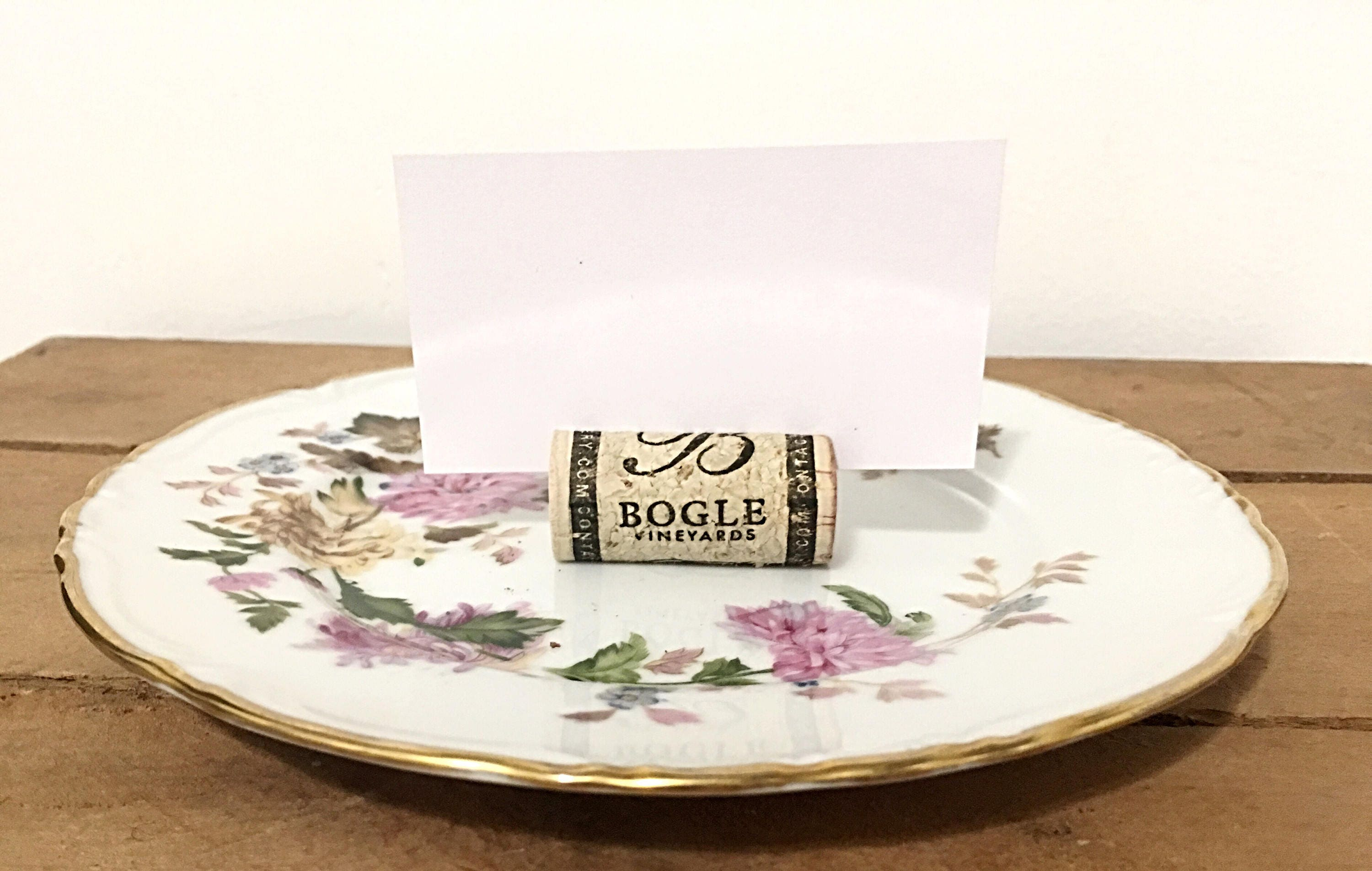 Rustic Wine Cork Place Card Holders, Set Of Fifty Wine Cork Holders ...