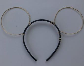 Wire Mickey Ears, Minnie Mouse Ears, Mickey Mouse Ears, Mouse Ears, Wire Mouse Ears